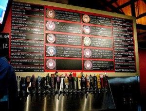 Beers, beers, beers at Fathead's