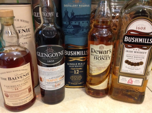 A celebration of whisk(e)y, with Glendoyne in the middle