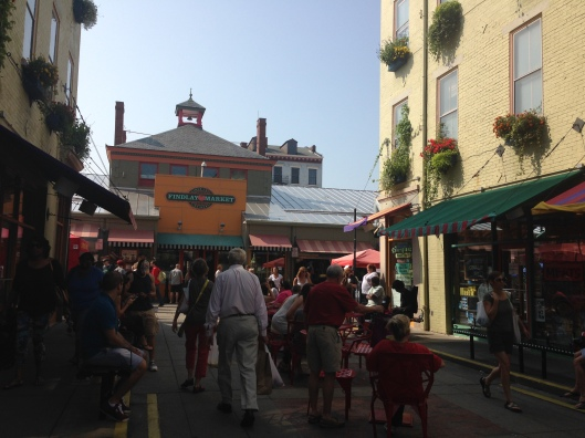 Sunday morning at the Findlay Market