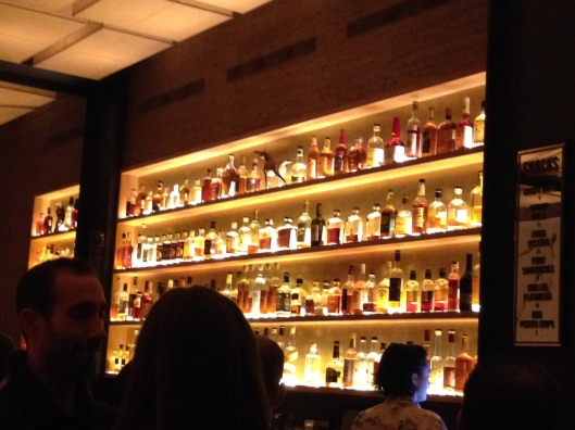 the great wall of whiskey, at Maysville