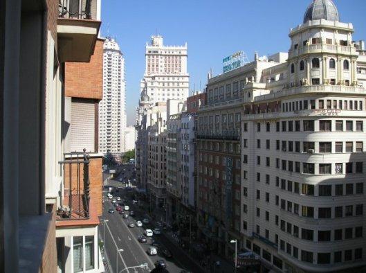 La Gran Via - it never sleeps!